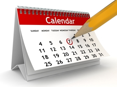Regarding our Calendars…